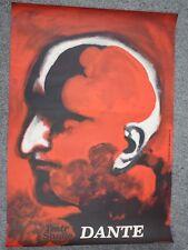 Dante Inferno Gorka Szajna Original Vintage 1974 Polish Theater Studio Poster