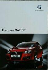 Volkswagen Golf GTi  Brochure  - October 2004