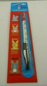 Happy Bunny Mood pen ink pen moody
