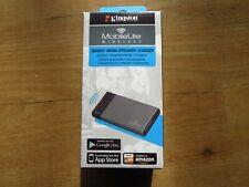 Kingston MobileLit Wireless Wifi USB SD Card Adapter mit Li-ion Akku - wie neu!