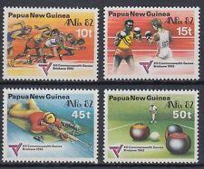 Papua-Neuguinea 1982 ** Mi.455/58 Sport Boxen Boxing Kegeln Bowling [sq6029]
