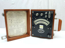 Vintage 1957 Weston Model 310 Wattmeter Electrical Gauge Instrument Usa