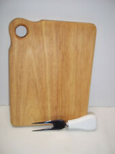 Cheese Board Ceramic Handle Prong Knife