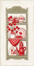 Cuisine étagères: vervaco counted cross stitch kit - 2002 \ 75.352