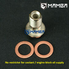 Mamba turbo OIL FEED bloc moteur Supply Banjo Bolt pour NISSAN PATROL SD33T 3.3 L