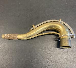 Vintage C.G. Conn 10M? Neck Original Lacquer for Tenor Saxophone