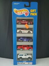 1994 Hot Wheels World Cup USA 94 5 Car Gift Pack # 12498