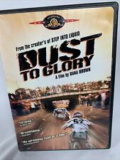 Dust to Glory DVD TESTED GOOD Extreme Sports Motocross 2005 Dana Brown