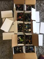 Heroclix 30 piece Lot w/Cards Grab Bag NO DUPLICATES