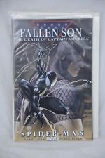 Marvel Comic Fallen Son: The Death of Captain America Spider-Man Chapter 4
