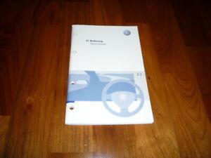 VW Passat Variant Bedienungsanleitung 05/2007