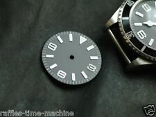 Explorer Watch Dial for DG 2813 Miyota 8200 Movement White Lume
