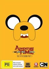 Adventure Time - The Complete Fifth Season - Part 1 NEW R4 DVD