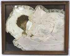 Framed Mixed Media Baby Sleeping Wall Art Lot 2532