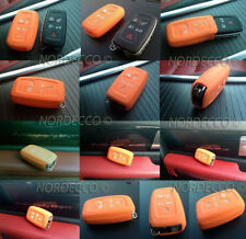 QUALITY SILICONE 5 BUTTON SMART KEYFOB PROTECTOR CASE RANGE ROVER DISCOVERY L322