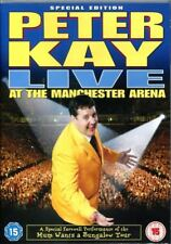 PETER KAY LIVE AT THE MANCHESTER ARENA SPECIAL EDITION EXTRAS UNIVERSAL DVD NEW