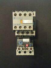 TELEMECANIQUE LC1 D2510 M7 40Amp CONTACTOR + LR2 D23 23-32A RELAY + LA1 DN 22