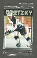 1995-96 UpperDeck Post (Canada) Wayne Gretzky in Cello (#17)
