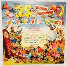 Rare 25 All Time Favourite Nursery Rhymes Sheila Southern Vinyl LP CBR 1037