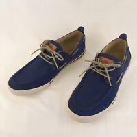 Tommy Bahama Calderon Boat Shoes Navy Blue Loafer US Mens 11
