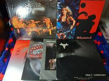 N.W.O.B.H.M. / Black Metal / Heavy Metal vinyl Lot - Vardis, Doro, Tudor