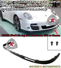 OE-Style Front Lip (Urethane) Fits 07-12 Porsche 997.2 911 Turbo