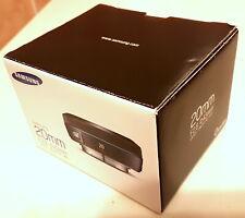 Samsung NX 20mm F/2.8 Prime Lens for SAMSUNG NX  EX-W20NB PANCAKE in ORGINAL BOX