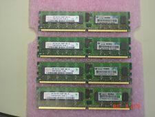 AB565DX 2GB 1Rx4 PC2-5300P DIMM FOR HP RX2660 SERVERS LOT OF 4,  HYNIX