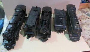 LOT 2 LIONEL MODEL TRAINS & TENDERS & A MARX? 898 TRAIN O / O27 GAUGE