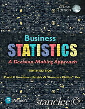 NEW 3 Days to AUS Business Statistics 10E David F. Groebner Shannon 10th Edition