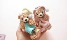 Disney Duffy Bear Friend and ShellieMay Plush Toy keychain ring 8CM 2pcs