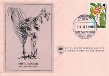 First Day Cover: MONTSERRET 1978 Royal Horticultural Society Flower Stamp! (B)