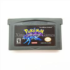 Nintendo GBA Video Game Console Card Cartridge Pokemon Liquid Crystal