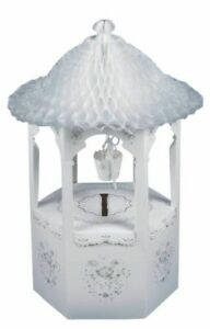 WISHING WELL BOX CARDS wedding engagement honeycomb cardboard wishes bucket
