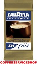 100 CAPSULE CAFFE'  GINSENG LAVAZZA ESPRESSO POINT   - ORIGINALE -