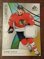 KIRBY DACH 2019-20 SP GAME USED AUTHENTIC ROOKIES JERSEY 509/599 TheBigTinyStore