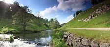 """Peak District Canvas Picture 16""""X20"""" National Park Landscape Wall Art Prints"""