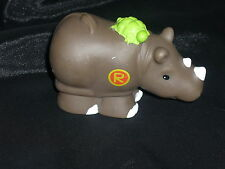 Fisher Price Little People R Rhino A-Z Alphabet Zoo Ark