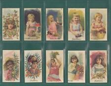 NOSTALGIA REPRINTS - 20 SETS OF 50 - ALLEN & GINTER  (U.S.A.)  ' FRUITS '  CARDS