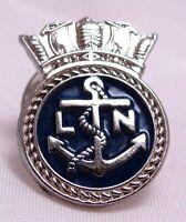 Canada Canadian Navy League  Logo Lapel pin