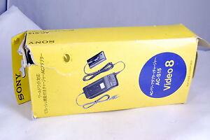 Sony AC-S15 Wall Power Adapter Video 8 genuine OEM