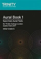 Aural Tests Book 1 from 2017 (Initial Grade 5) by Trinity College London Press (Mixed media product, 2016)