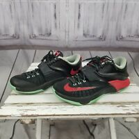 Nike zoom chucky men basketball shoes 8 2014 red black green kevin durant