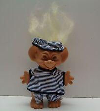 Vintage Wishnik Uneeda 1966 Troll Doll with original Clothes