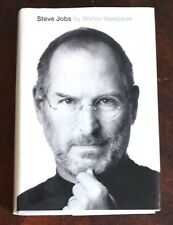 Steve Jobs HBDJ by Walter Isaacson First Edition Free Shipping