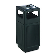Commercial Trash Can Restaurant outdoor Large Garbage Waste / recycle Bin, Black