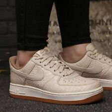 finest selection 71404 26f2e WOMENS NIKE AIR FORCE 1 07 PRM UK 7 EU 41 TRAINERS 616725112 OATMEAL AF1