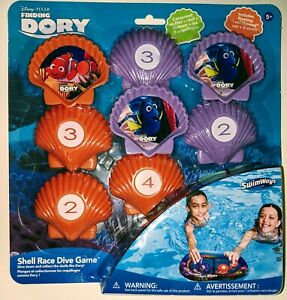 Swimways Disney Pixar Water Toy Dive Game Finding Nemo Dory 25356 New NIP 2006