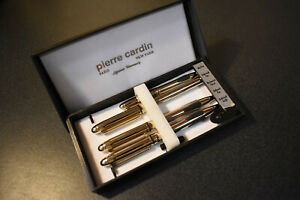 PIERRE CARDIN PEN AND PENCIL GIFT SET WITH ORIGINAL BOX 4 pc. set