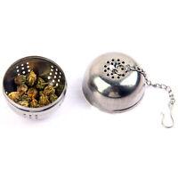 Stainless Steel Tea Infuser Ball Mesh Loose Leaf Filter Herbal Spice Strainer